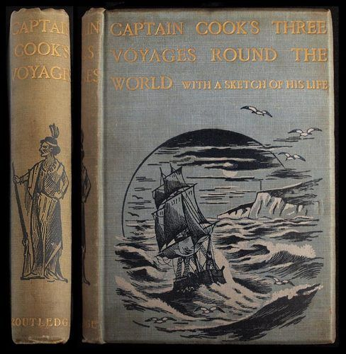 1900 Captain Cook Travel Exploration Discovery Voyages Australia New Zealand | eBay