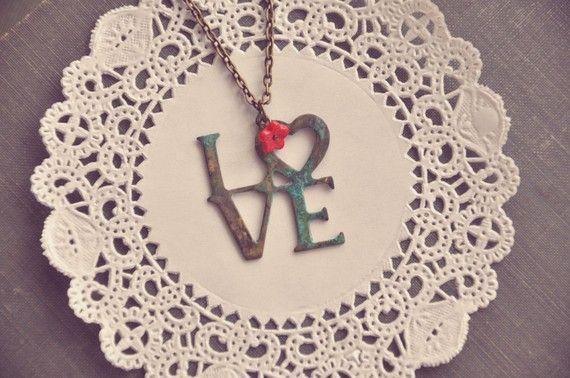 'Wordy' jewellery... love!