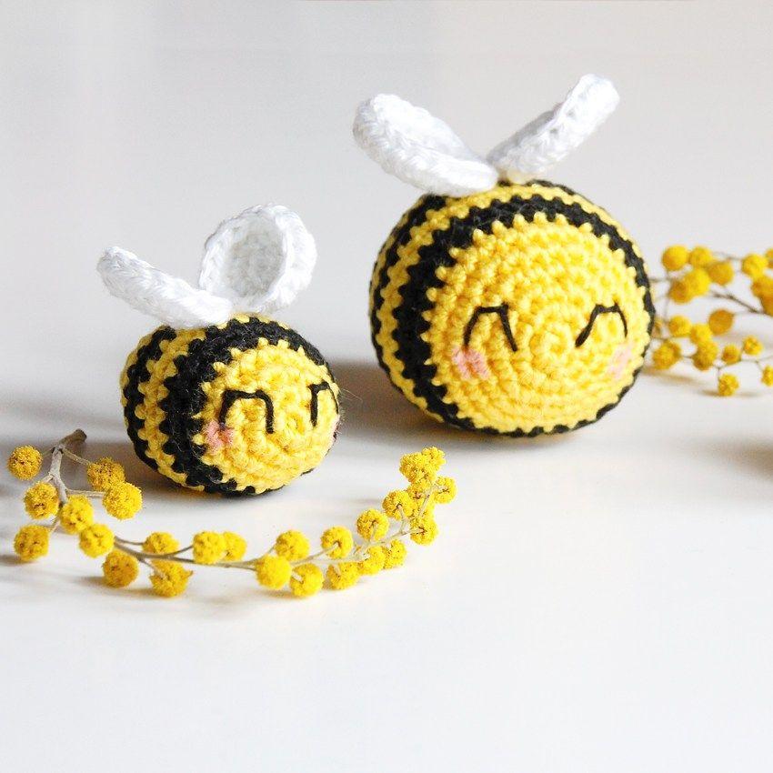 Quand mes petites abeilles au crochet et leur tutoriel se glissent ...