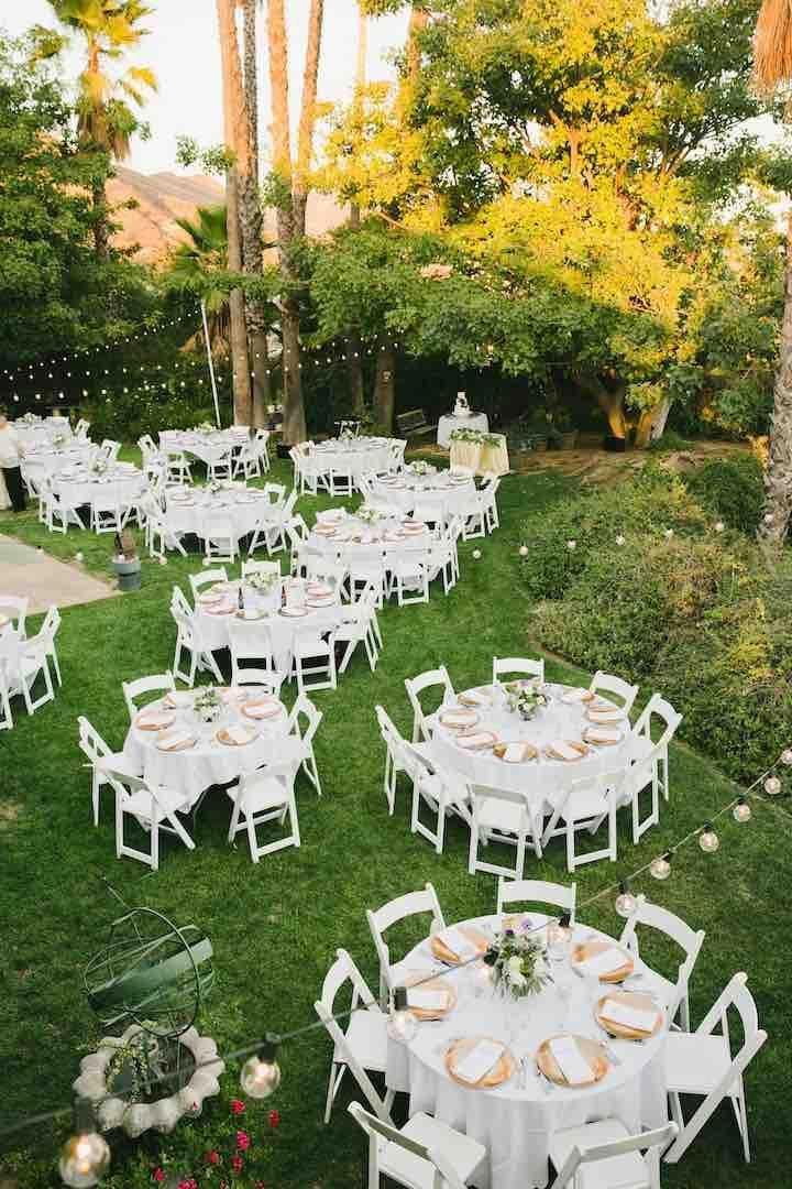 Adirondack Chair Plans Free Wedding backyard reception