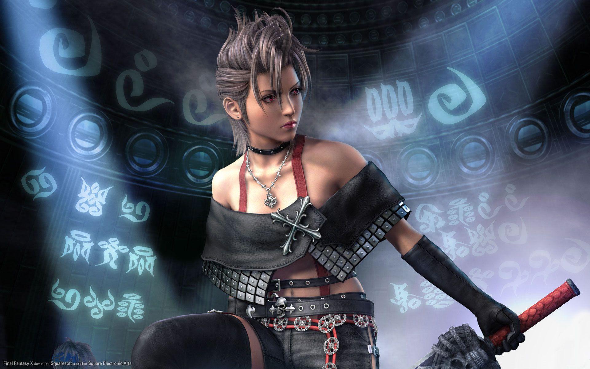 Paine Ffx2 Final Fantasy X Final Fantasy Girls Final Fantasy