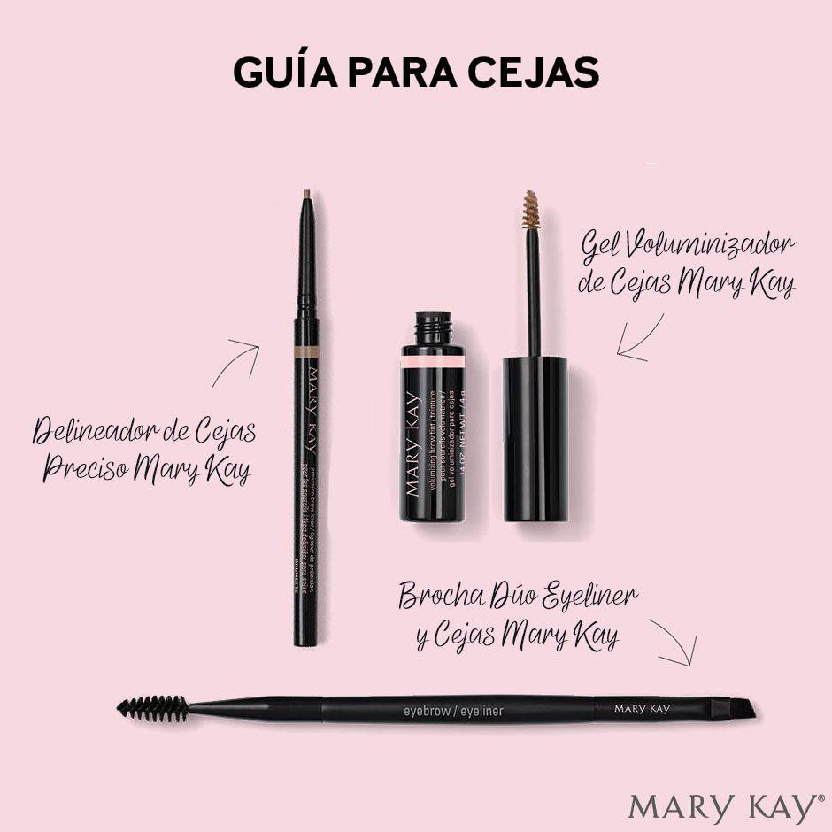 Guía Para Cejas Os Dejamos Unos Consejos Para Lucir Unas Cejas Perfectas Con Los Nuevos Product Cosméticos Mary Kay Maquillaje Con Mary Kay Imagenes Mary Kay
