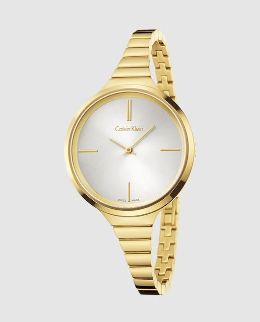 2a6e7ff5363d CALVIN KLEIN Reloj de acero dorado