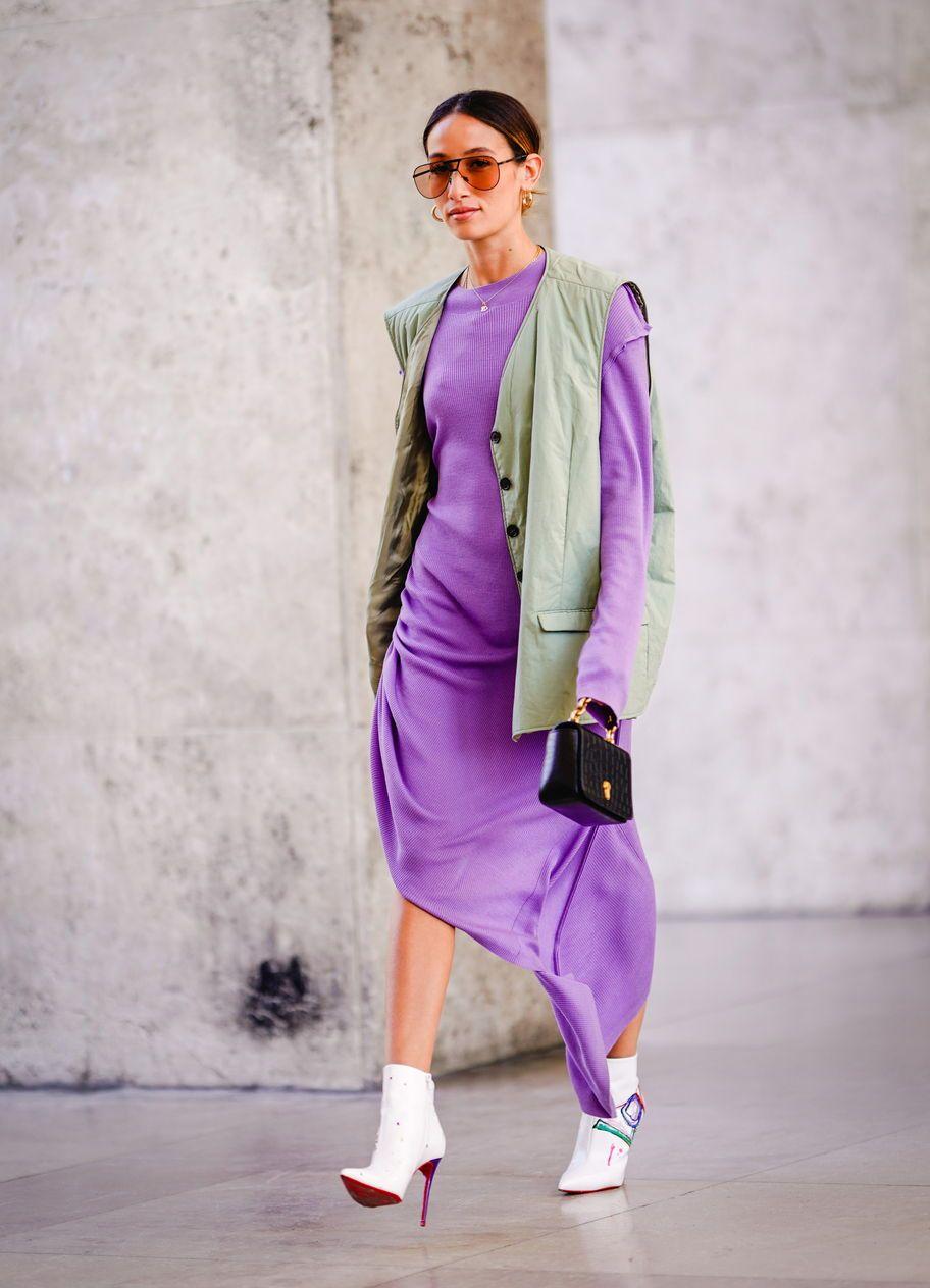 Das sind die 5 besten Herbst Schuhe zum Midi Kleid | Weiße