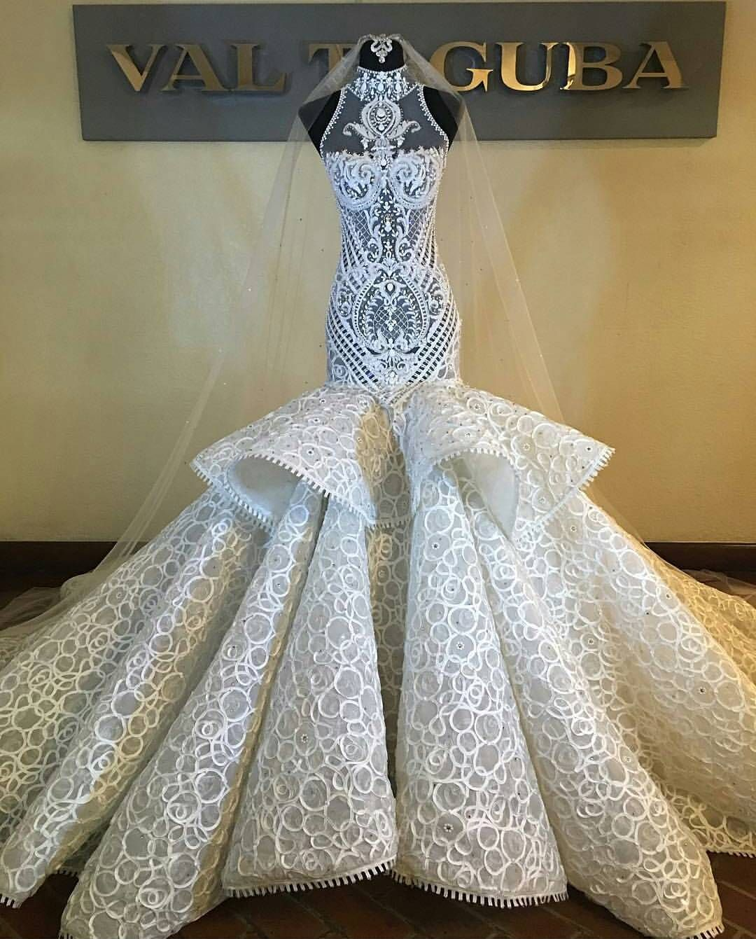 Wow! Tag a super stylish bride to be. What a dress! Designed by ...