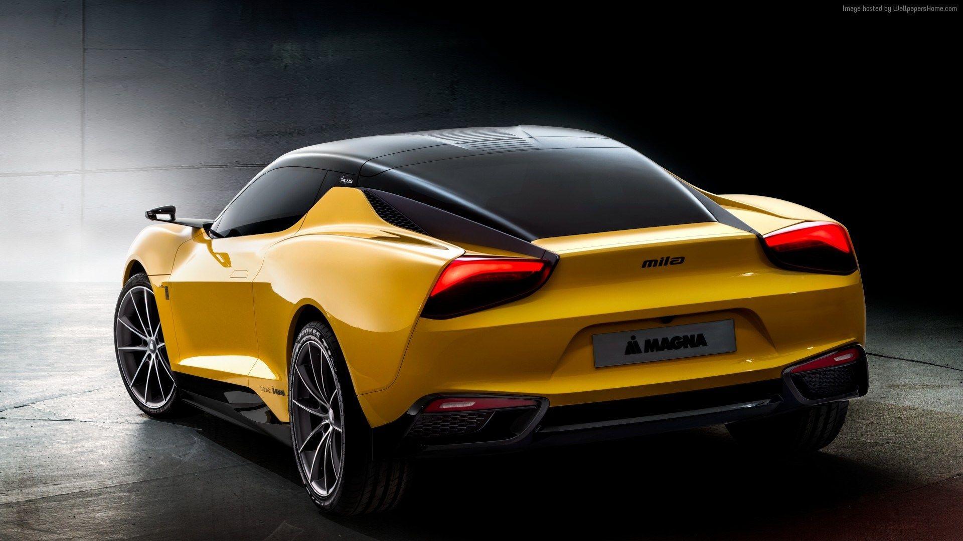 magna steyr mila plus wallpaper Concept cars, Hybrid car