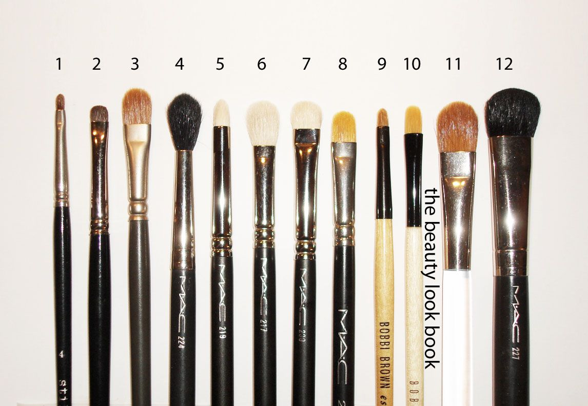 My MustHave Eye Brushes Eye brushes, Best blending