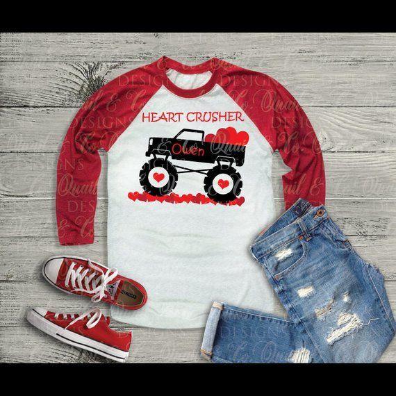 Heart Crusher SVG Make A Sweet T-shirt For A Little Heart