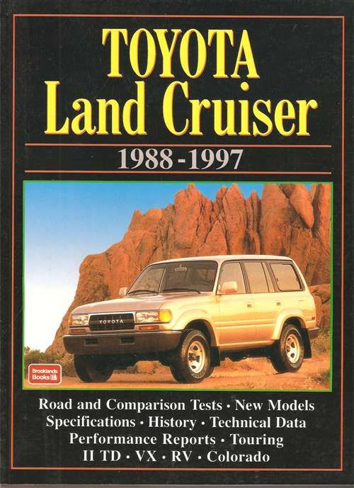 Toyota Land Cruiser 1988 - 1997 Road Tests | Custom off