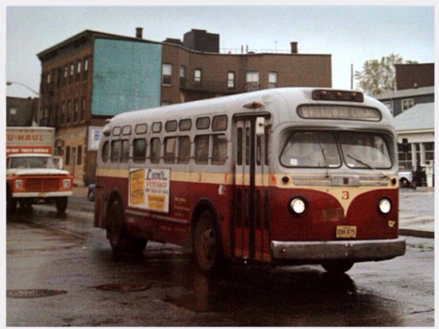Broadway Bus & my building