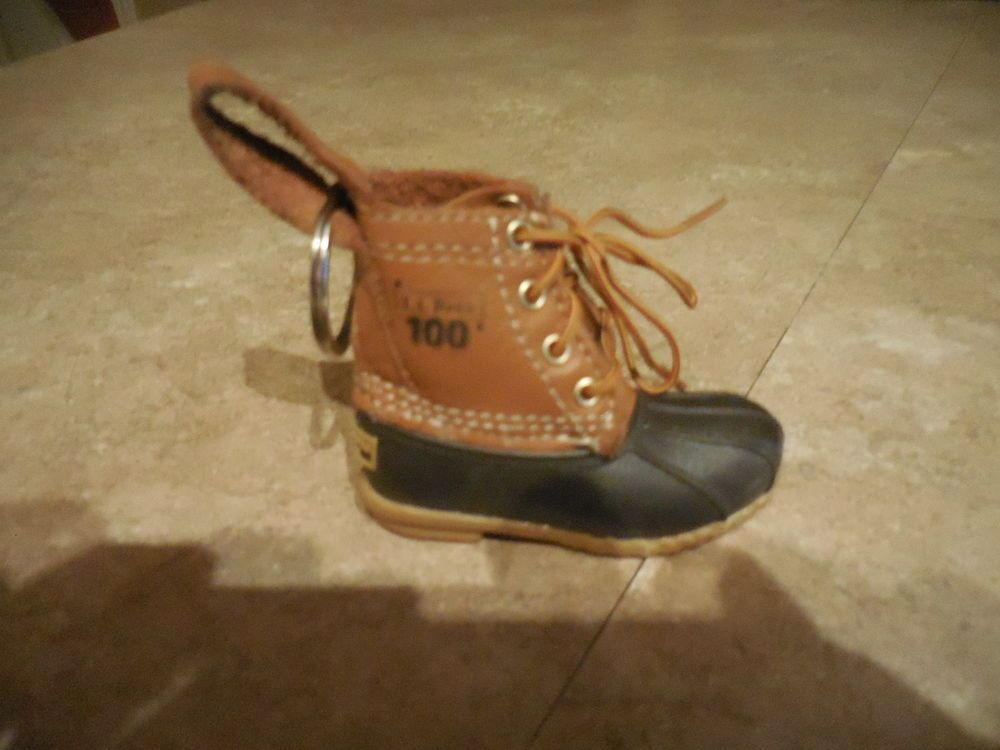 Details About Ll Bean Boot Keychain Mini Fob L L Red Duck
