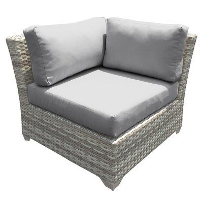 Sol 72 Outdoor Falmouth Corner Patio Chair With Cushions Products