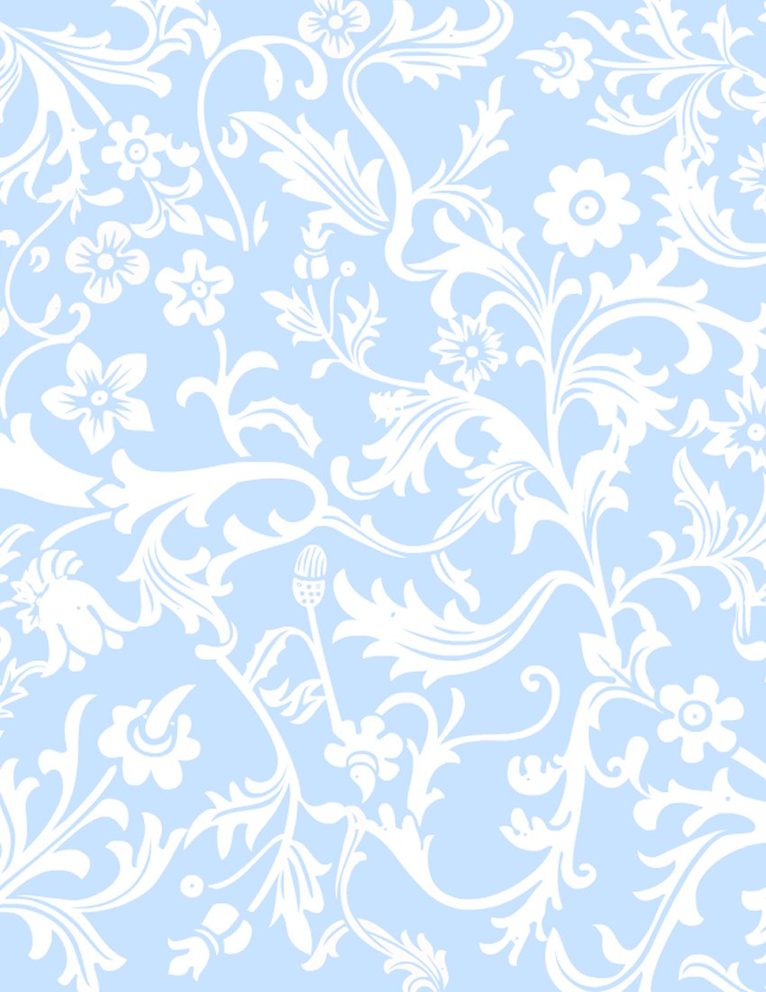 Scrapbook paper as wallpaper - Blue And White Paisley Scrapbook Paper