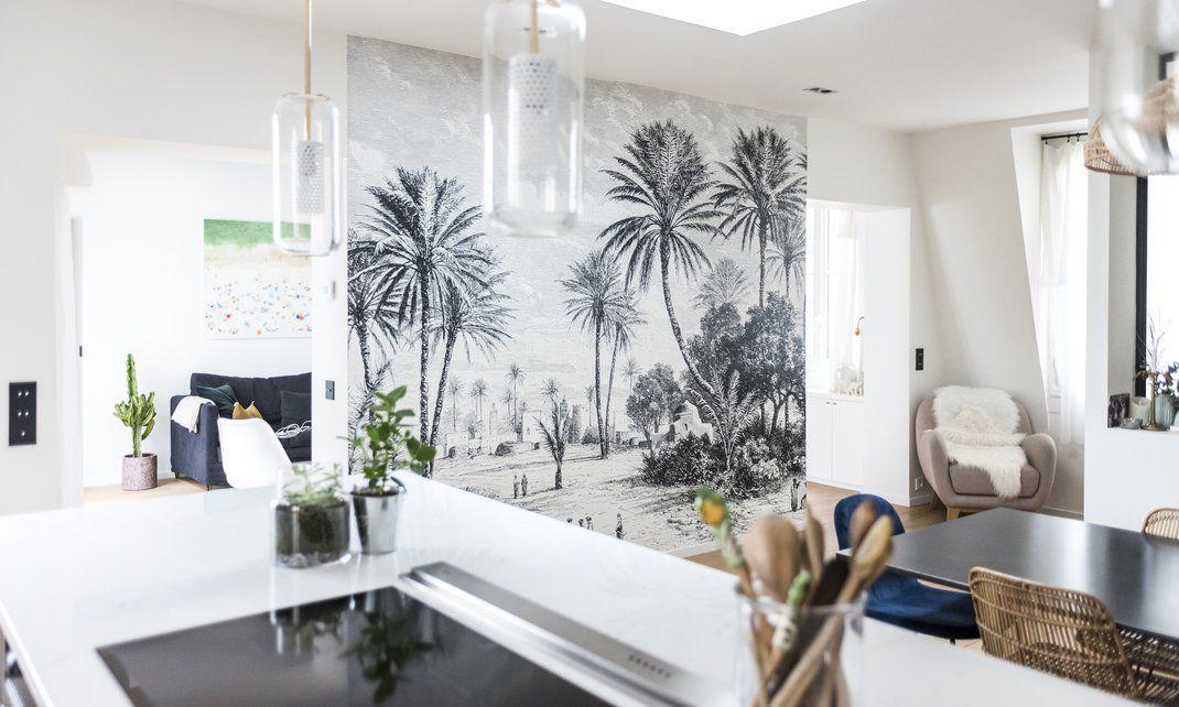 Panoramique Oasis Au Fil Des Couleurs Cuisine Apartment Kitchen