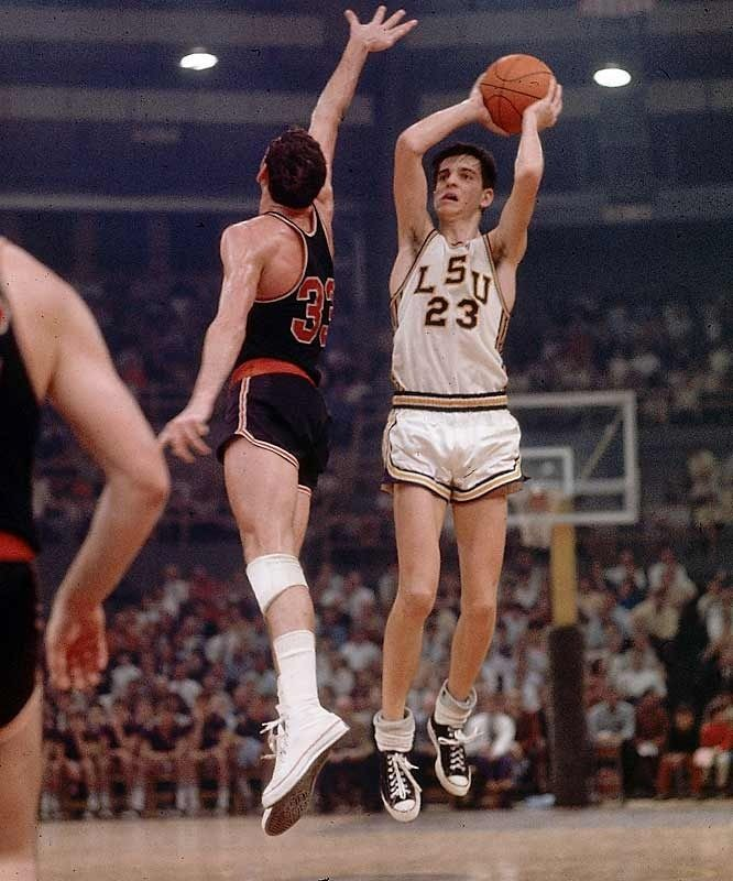 Image result for pete maravich lsu images