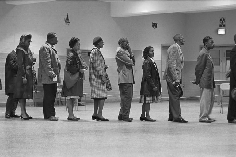 005 AfricanAmericans vote for the first time, 1963. Photo
