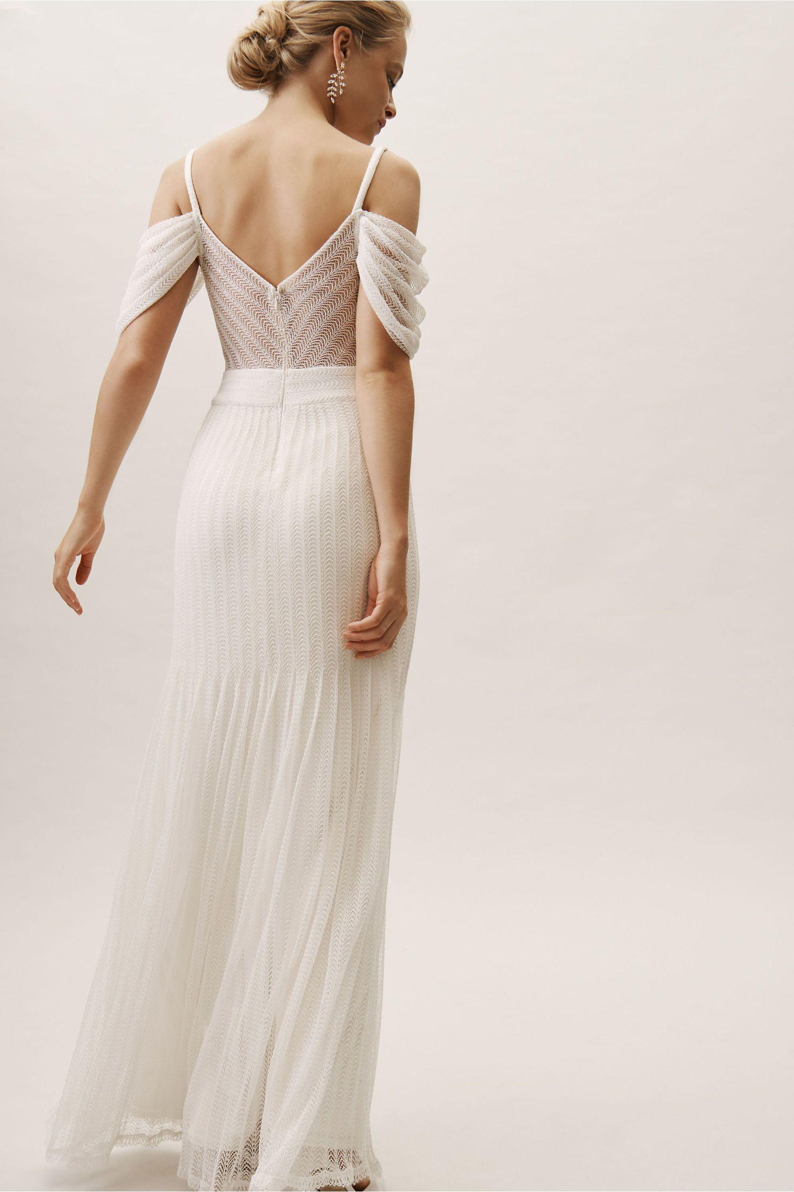 Rae Gown Bhldn Wedding Dress Wedding Dresses Backless Wedding Dress