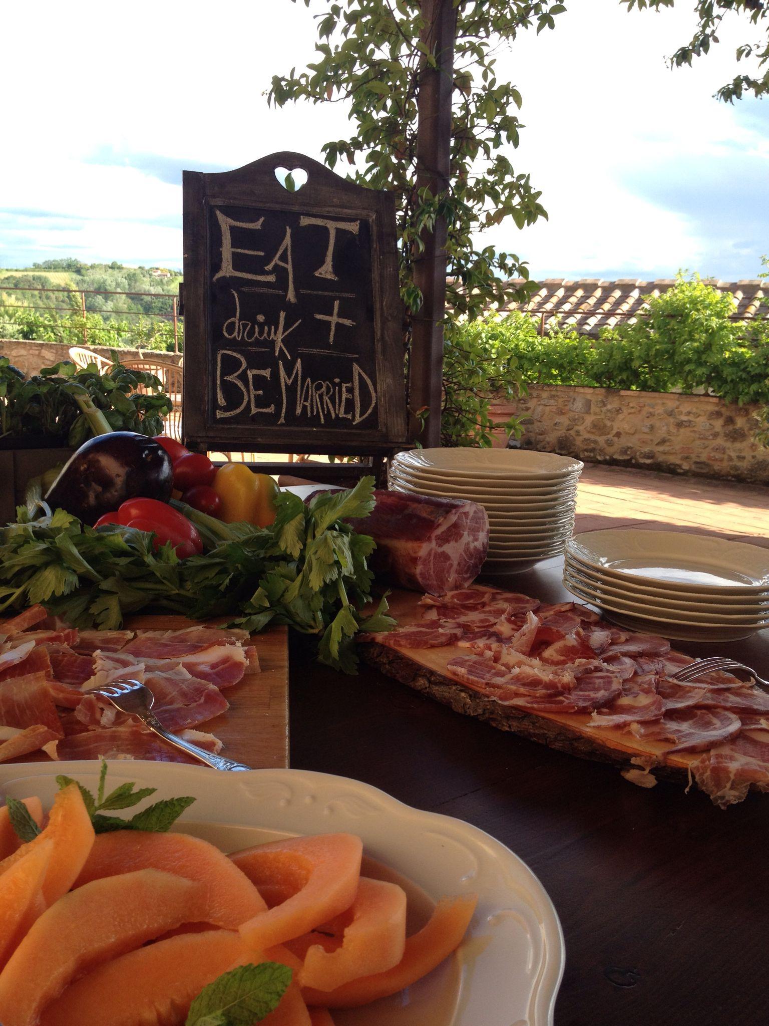 wedding at borgo di petrognano under the tuscan sun catering