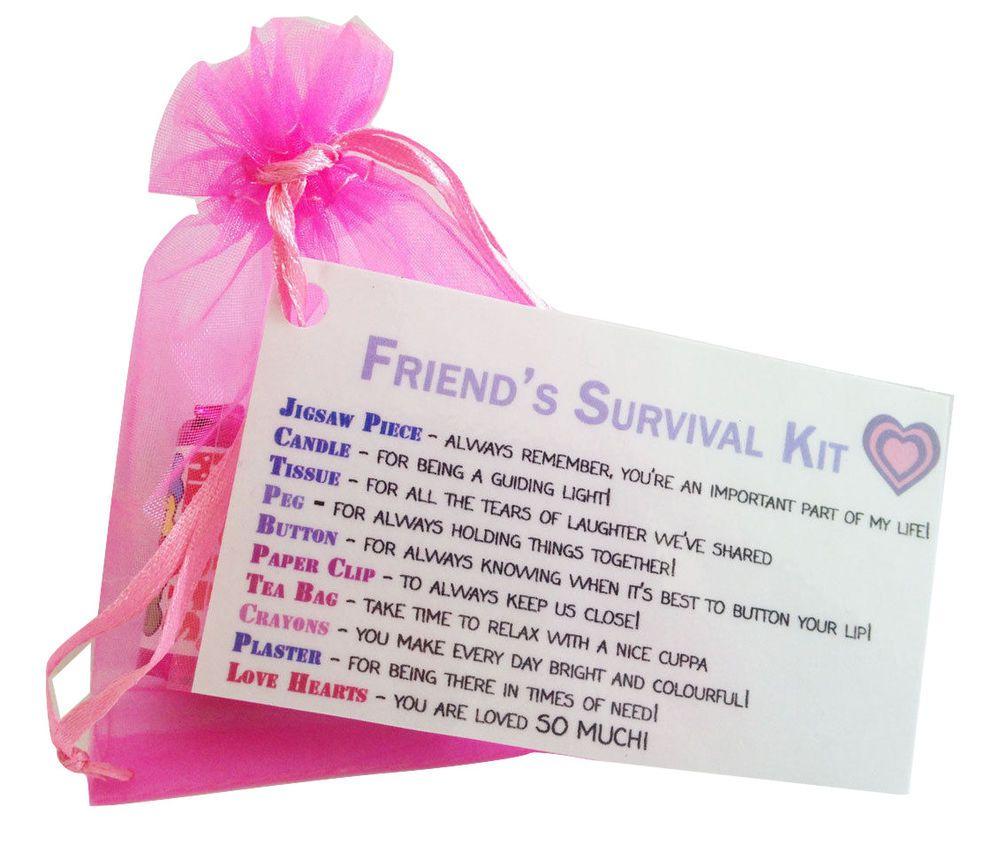 Special Friend Gift Little Bag Of Friendship Survival Kit