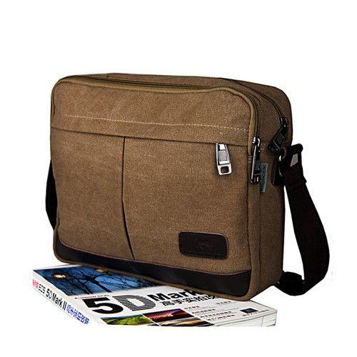 New Fashion Luxury Vintage Canvas Shoulder Bag Handbag Messenger ...