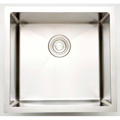 Royal Purple Bath Kitchen 15 X 15 Undermount Kitchen Sink With