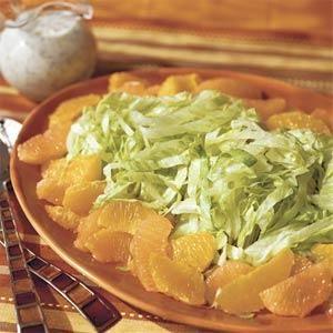 Citrus Salad With Banana-Poppy Seed Dressing Recipe | MyRecipes.com