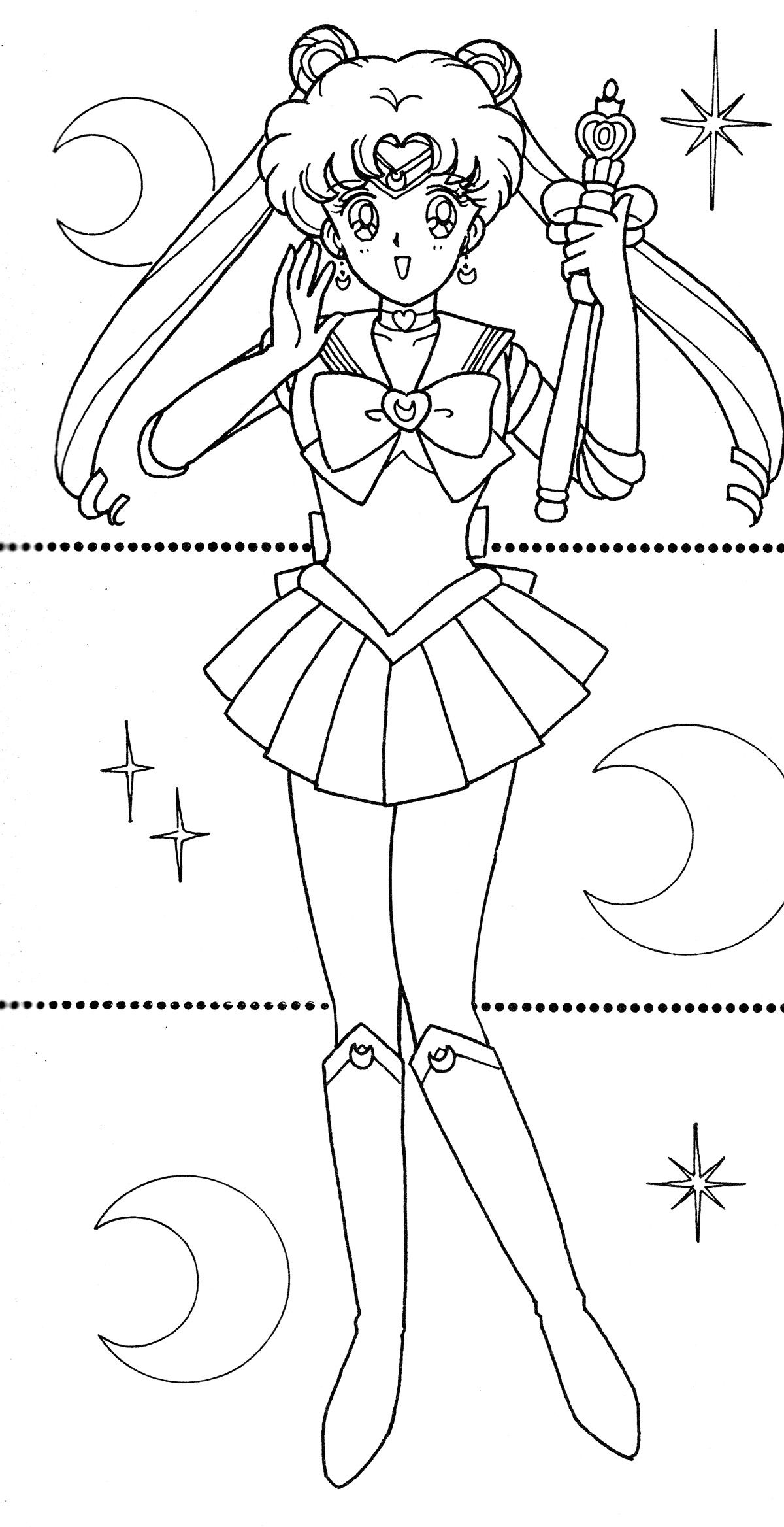 Moon006 Jpg 1200 2336 Sailor Moon Coloring Pages Sailor Moon Crafts Sailor Moon Tattoo