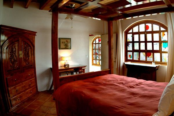 Old Indian Style With Nice Window Asian Bedroom Decor