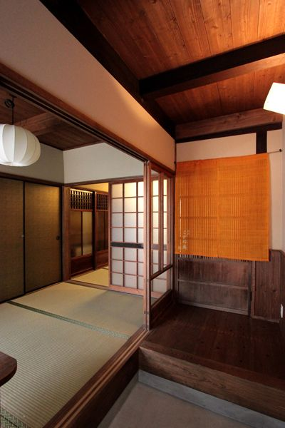 Japan #Kyoto traditional hotel kogane RYOKAN + 茶屋 Pinterest