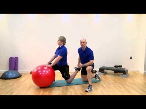 Static Kneeling Stretch (Rectus Femoris Kneeling)