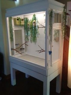 Diy Birdcage Cabinet Aviary Glass Curio Cabinet China