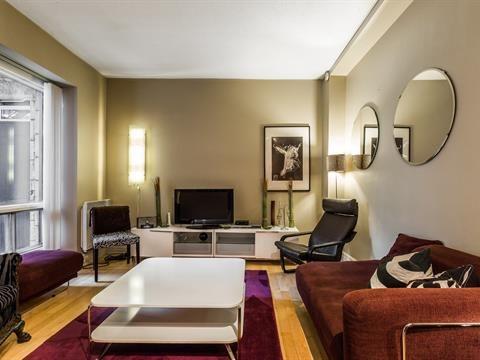 Condo   Appartement à louer à Ville-Marie (Montréal) - 1 600 $  mois
