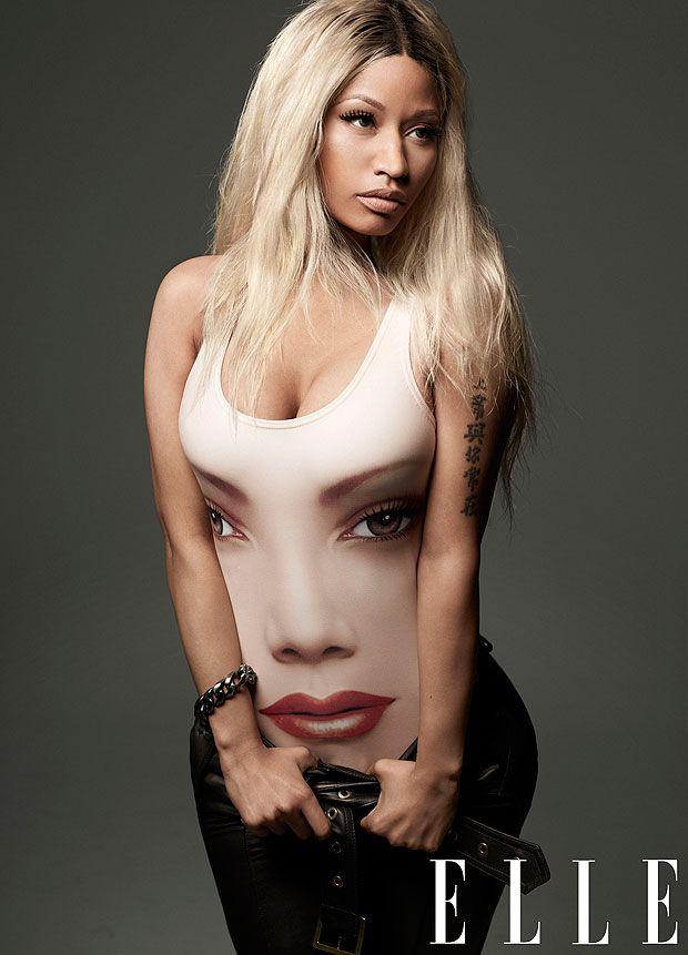 Nicki In Elle Magazine Eyejack