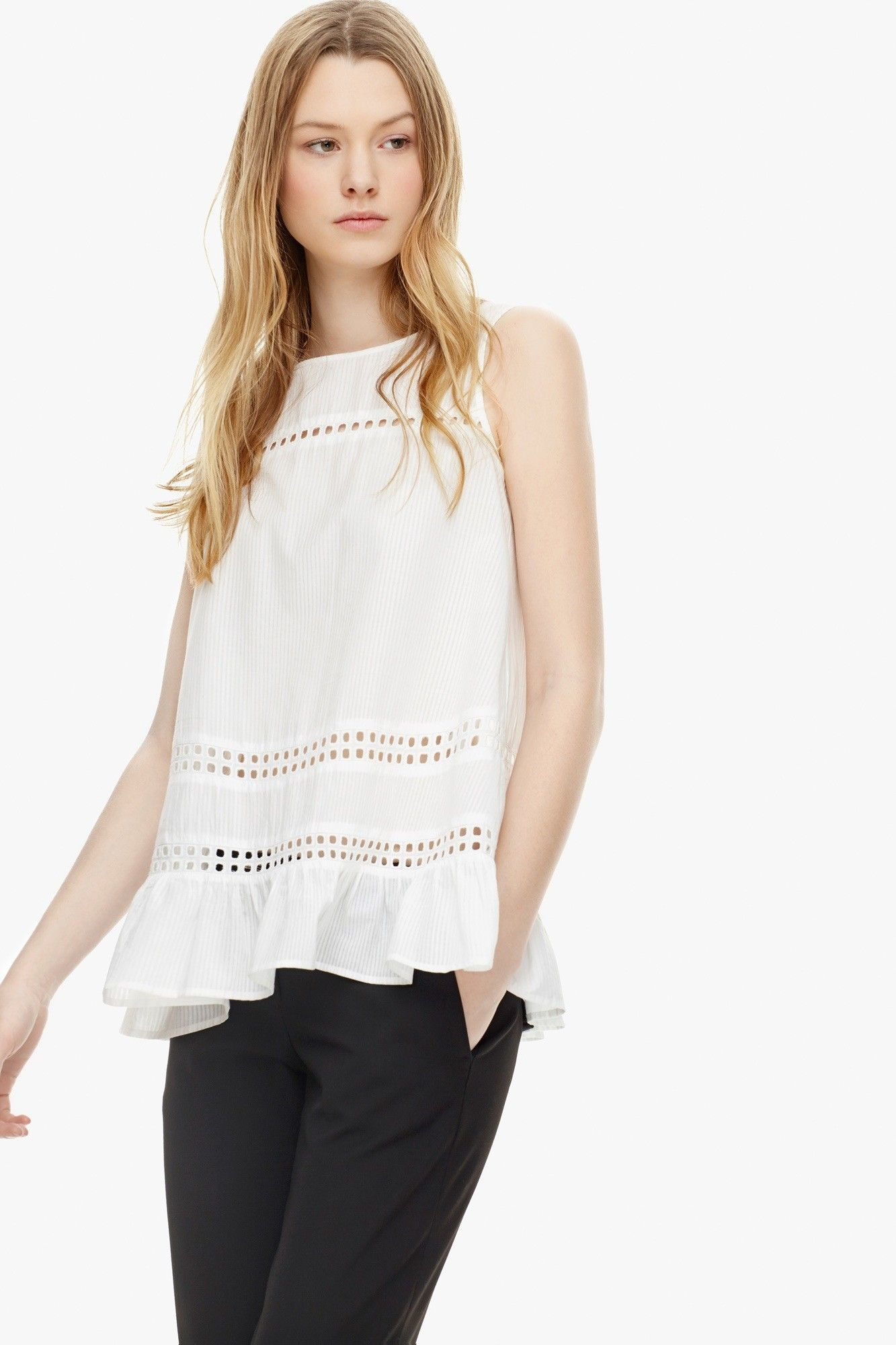 Top algod n vuelo camisas tops adolfo dominguez shop for Adolfo dominguez outlet online