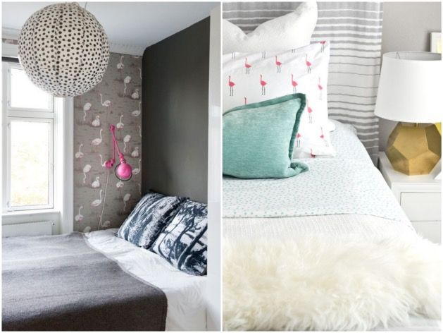 Déco Flamant Rose - Blog Déco Boho chic style, Corner and Rose