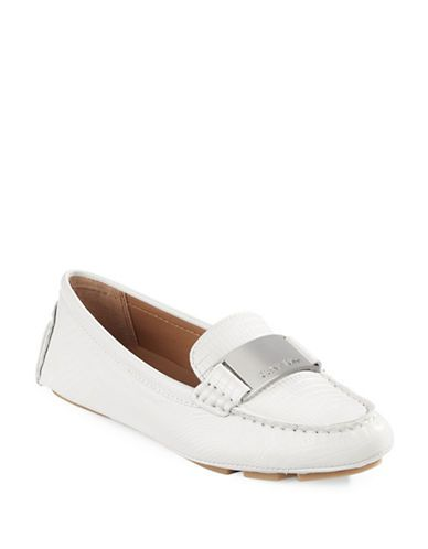 86dffb4d86f CALVIN KLEIN Calvin Klein Lisette Tejus Lizard Leather Loafers.  calvinklein   shoes  flats