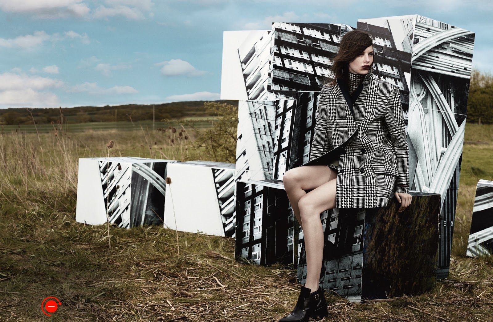 The Grid: Amanda Murphy, Sam Rollinson And Maria Loks By Craig Mcdean For Uk Vogue September 2013