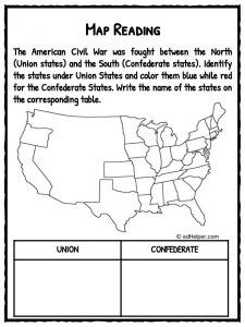 american civil war facts information worksheets teaching resources classroom ideas. Black Bedroom Furniture Sets. Home Design Ideas