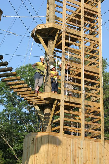 Discovery Ropes Course at   Bethesda Park 1814 Stage Rd. Durham, NC 277030