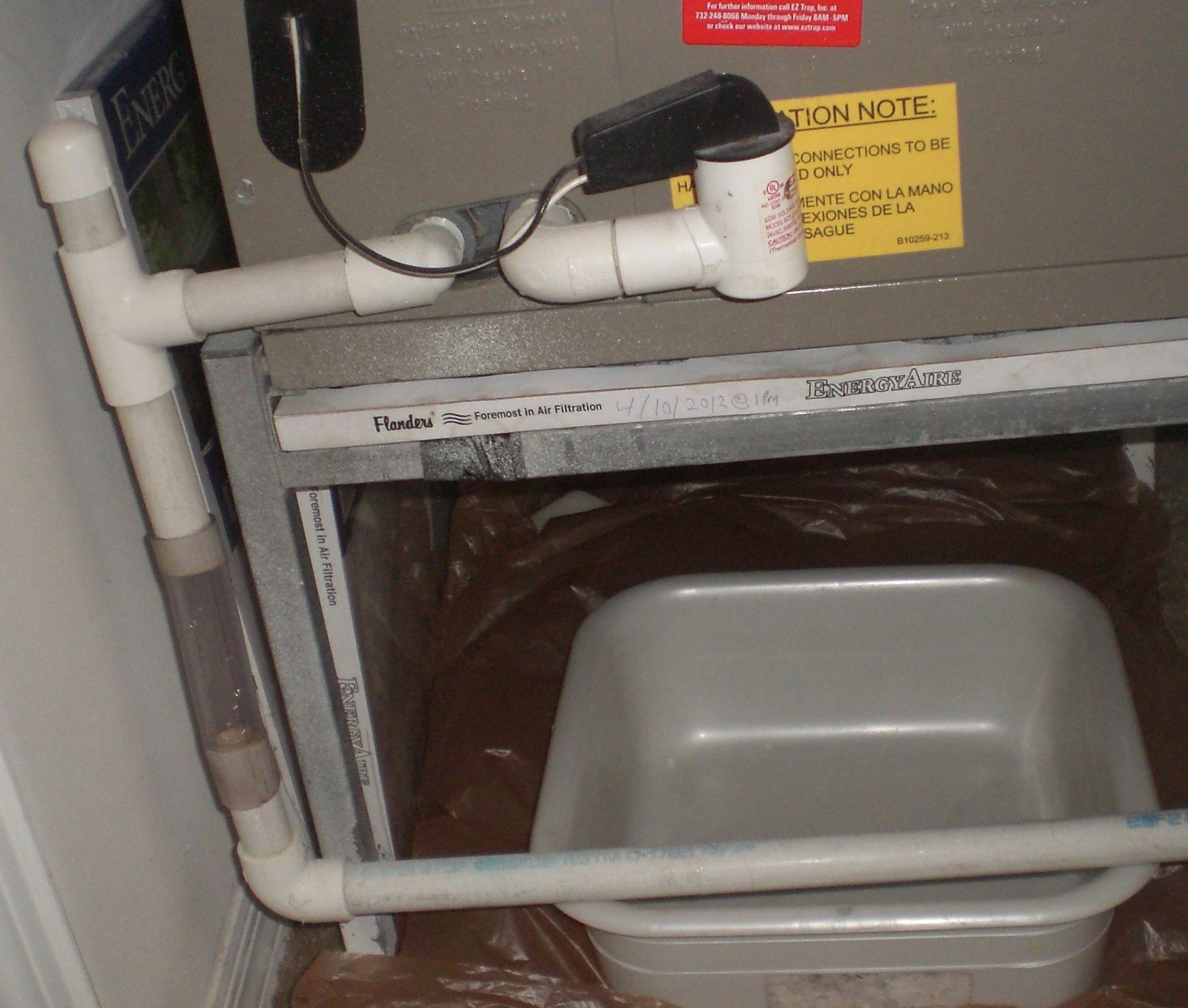 Central Air Conditioner Leaking Water Inside House Feels Free To