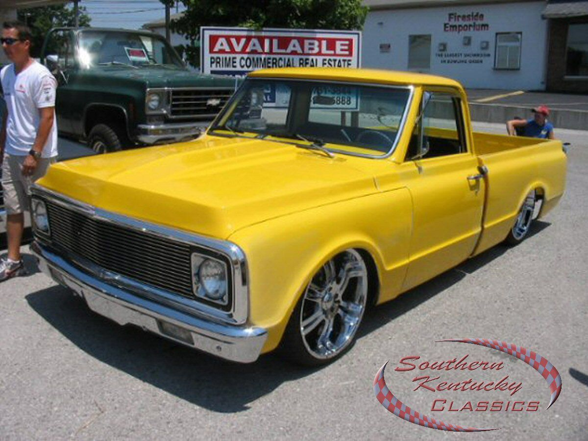 All Chevy 71 chevrolet : Jimmy K's HOT Yellow 71 Chevrolet C10 | Customers Trucks ...
