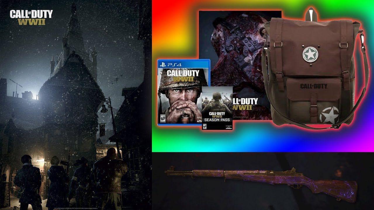 Call of Duty World War 2 PREORDER BONUSES (Deployement