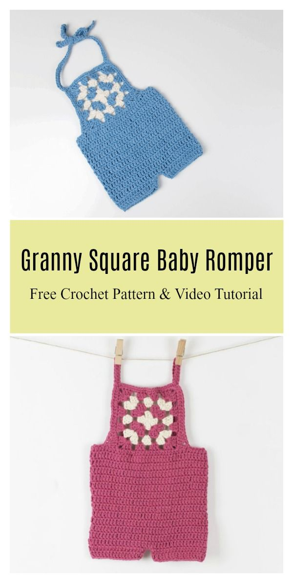 Crochet Baby Romper Free Patterns Crochet Baby Outfits And Rompers