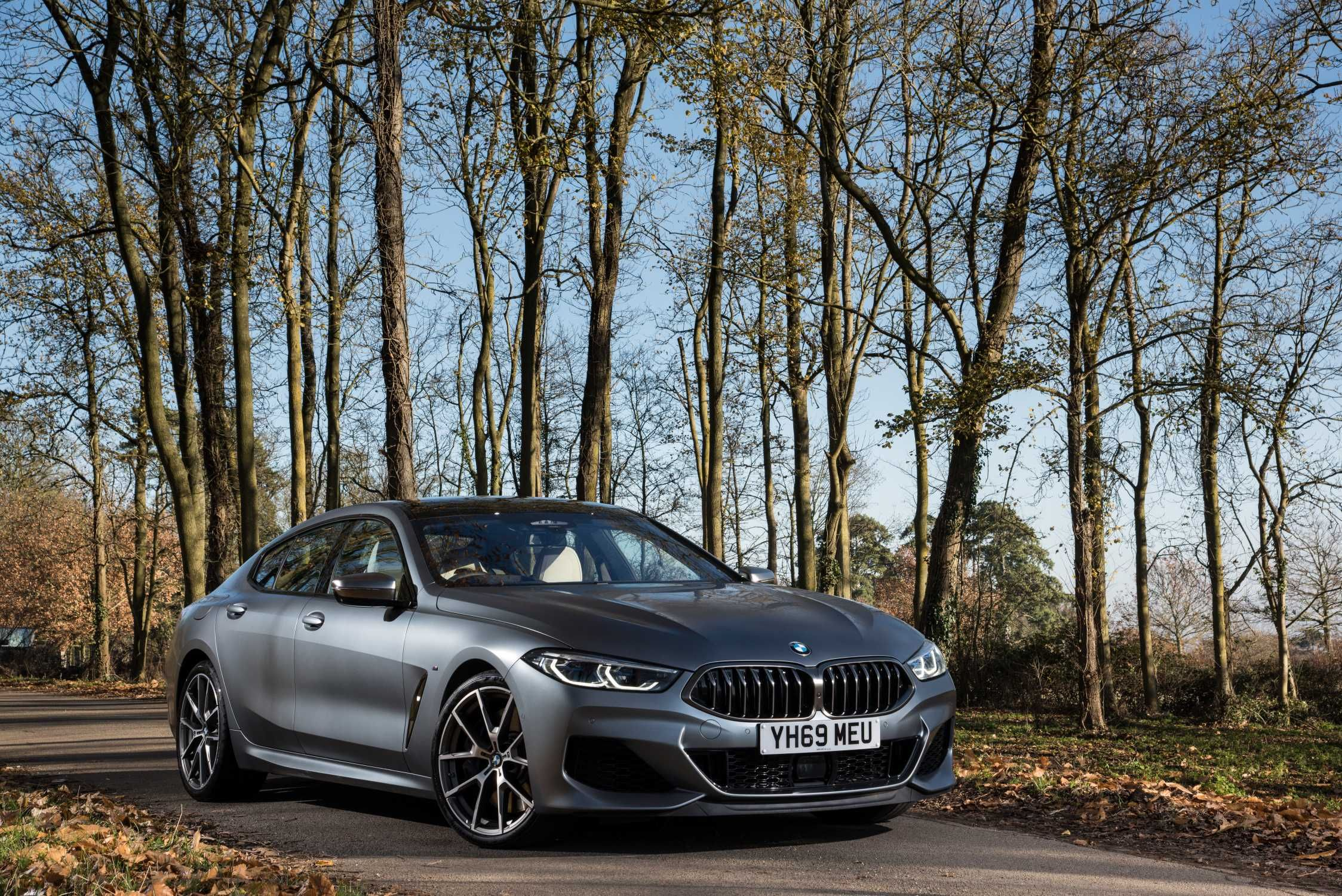 50 Bmw 8 Series Gran Coupe Side View In 2020 Bmw New Bmw Gran Coupe