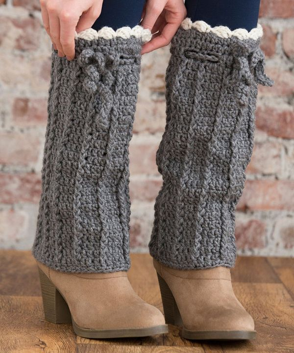 Lw4596 Long Boot Warmers Free Crochet Pattern Crochet