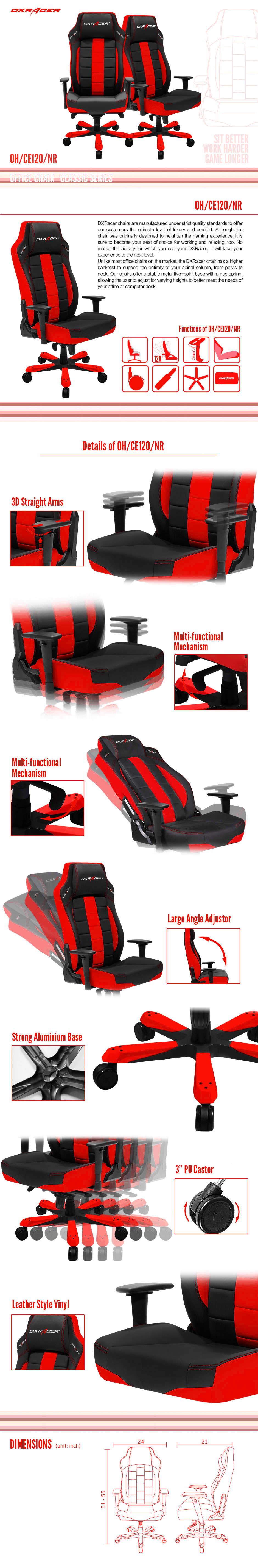Cool DXRacer Gaming Chair Gaming chair, Racing chair