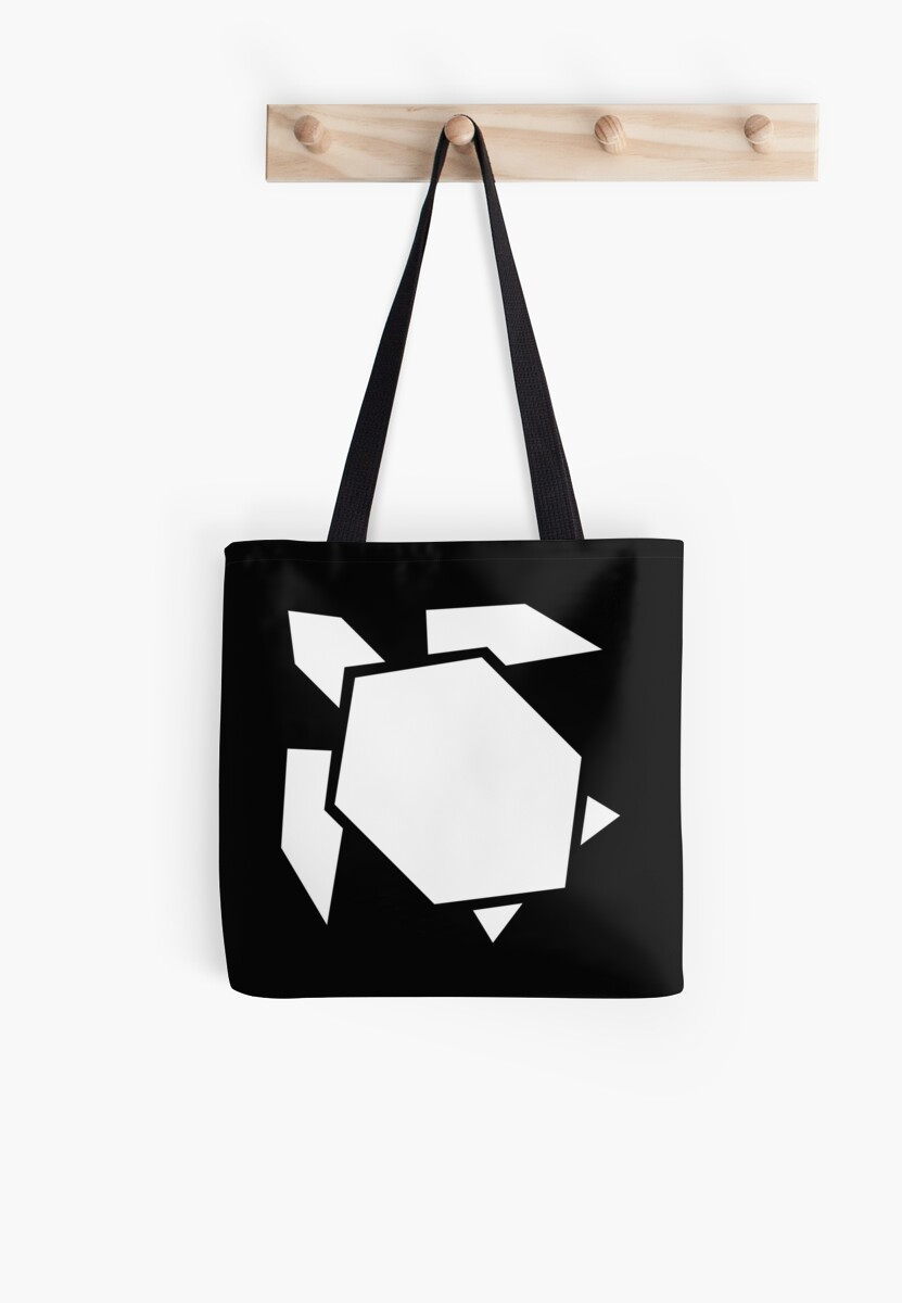 Photo of 'Geometric turtle, origami style' Tote Bag by rcmorigami