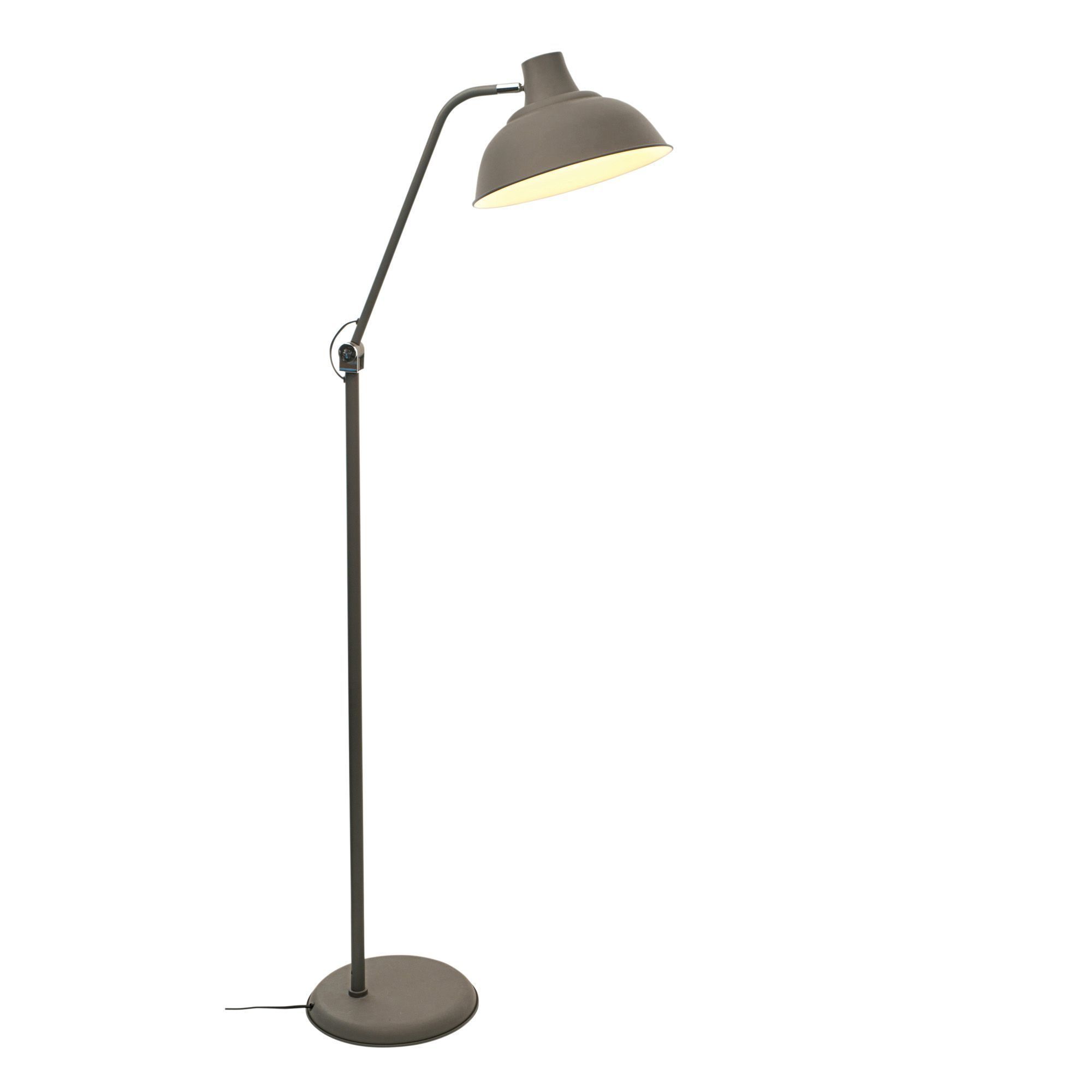 Industry Metal Foot Switch Floor Lamp | Departments | DIY at B&Q ...