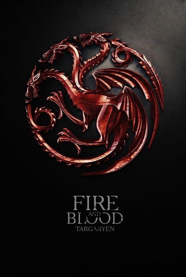 Got Targaryen Sigil Game Of Thrones Houses Game Of Thrones Art