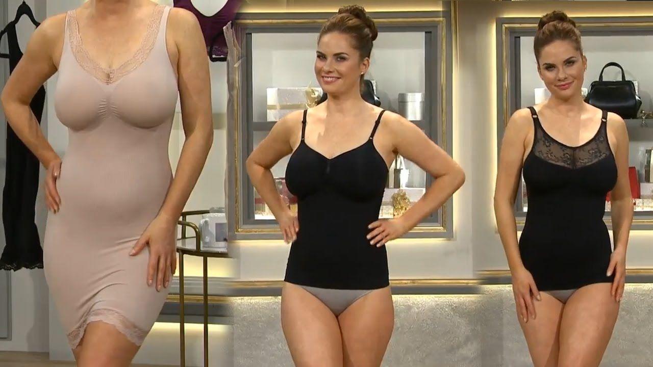 38e5a98edfa Deborah Ann Gaetano Shapewear Model QVC UK 28122016 | Models ...